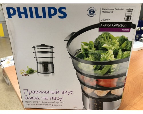 Пароварка PHILIPS Avance Collection HD9190/30