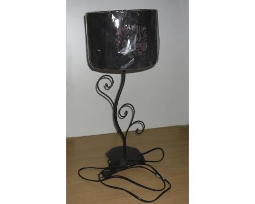 Настольная лампа  СS-K010 черно/розовая
