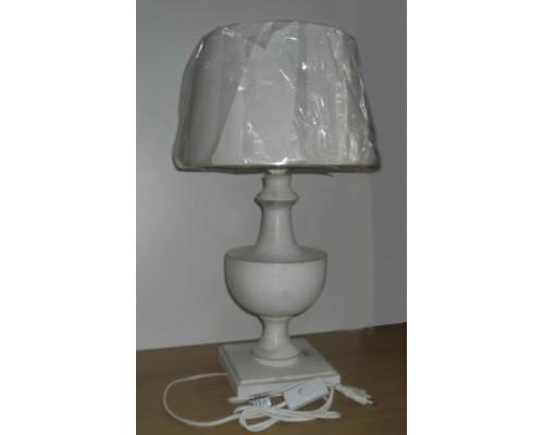 Лампа настольная CS-N030S белая