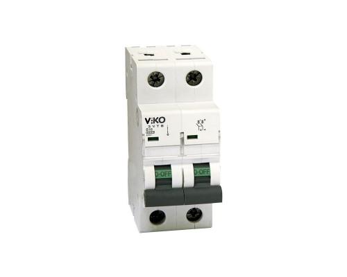 Автоматический выключатель, 2P, 10A, 4,5kA