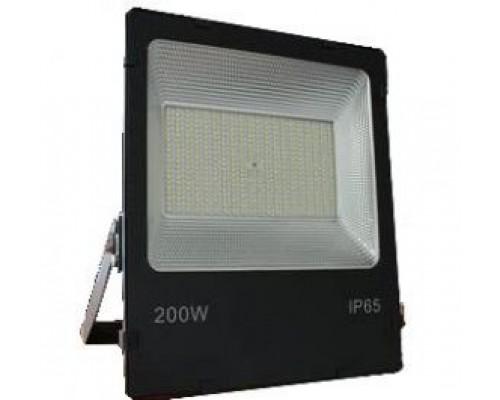 Прожектор LFL 200Вт 6400K SMD IP65 чорний 18000Lm