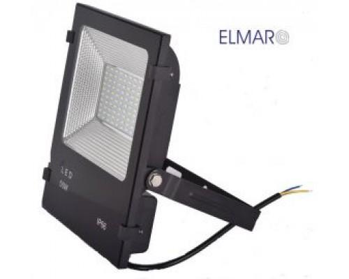 Прожектор LFL 50Вт 6400K SMD IP65 чорний 4250Lm