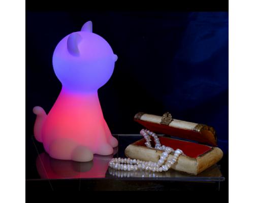 Cветильник-ночник настольный CZ-1D Кот Ириска