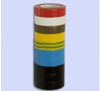 Изолента 15мм x10м красная ПВХ