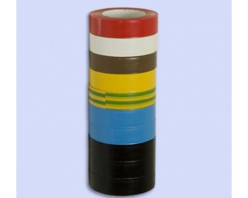 Изолента 19мм x20м желтая ПВХ