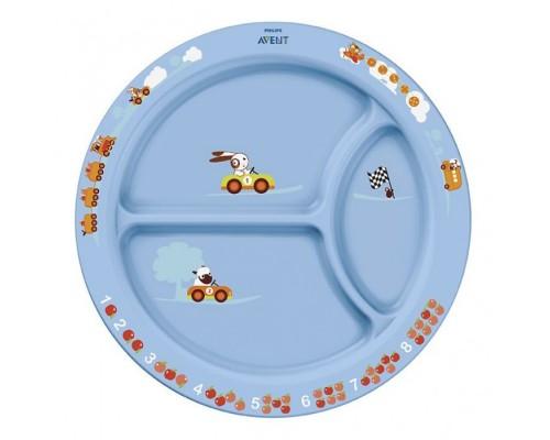 Тарелка детская порционная Philips SCF702/01