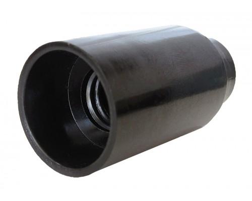 Патрон бакелит E14 черный