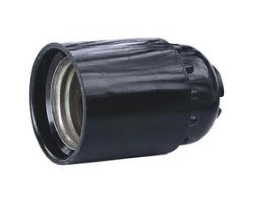 Патрон бакелит E27 черный
